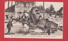 Un Train Dans La Marne - France