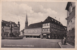 Carte Postale, Adolf Hitler Platz, C. Blum-Jundt, Emmendingen In Breisgau - Emmendingen