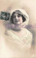 FEMME élégante Mousseline - Elegant Lady Muslin - 1912 - Portrait  - 2 Scans - Mujeres