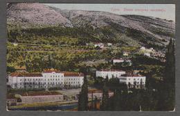 CROATIA - GRUZ - VOJNA POMORSKA AKADEMIJA - Travelled 1927 - ATELIER KRISER, ST. KANJIZA - Croatie