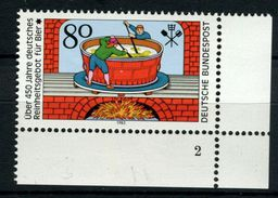 Bund, 1179, Formnummer, Reinheitsgebot - BRD