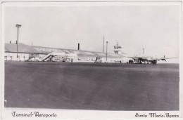 Azores, Acores - Santa Maria - Airport, Aeroporto 1956 - Açores