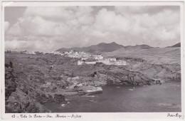 Azores, Acores - Santa Maria, Vila Do Porto - With Stamp 1956 - Açores
