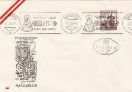 ÖSTERREICH 1959 - 1 S Mariazell Erstagsbrief - FDC