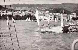 CRIKVENICA (Jugoslawien) - Segelboote, Fotokarte Gel.196? - Jugoslawien