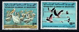 1981  Oiseaux: Pélicans, Flamants  ** - Mauritanie (1960-...)