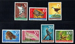 1968-9  Oiseaux Et Crustacées * * - Senegal (1960-...)