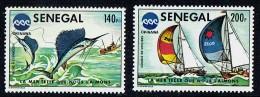 1976  Oceanexpo 75 Okinawa - Pêche à L'espadon, Course De Voiliers   ** - Senegal (1960-...)