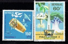 1979  Philexafrique 2 : Tam-tam, Baobab, Monument De L'Indépendance, Lion  ** - Sénégal (1960-...)