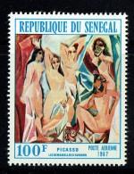 1967  Picasso «Les Demoiselles D'Avignon»** - Senegal (1960-...)