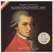 Autriche 2003: Coffret BU Des 8 Pièces - Autriche