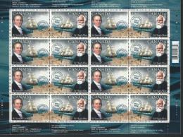 CANADA 2004 SCOTT 2041-42 COMPLETE SHEET VALUE US $ 15.00. - Unused Stamps