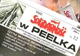 RAIL * RAILWAY * RAILROAD * KRAKOW * CALENDAR * NSZZ Solidarnosc 2005 * Poland - Calendari