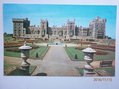 Postcard The East Terrace Windsor Castle Royal / Royalty Interest My Ref B1201