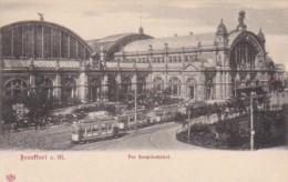 Germany Frankfurt Hauptbahnhof Railroad Station