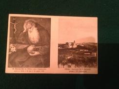 Cartolina Offida Ascoli Piceno  Santuario Di B.Bernardo Presso I PP Capuccini Viaggiata 1918 - Ascoli Piceno