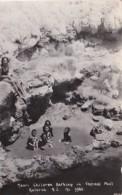 New Zealand Rotorua Maori Children Bathing In Thermal Pool 1933