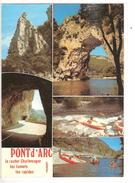 LES GORGES DE L ARDECHE VERS LE PONT D ARC - MULTI VUES - Vallon Pont D'Arc