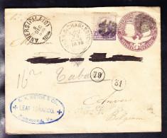 ENTIER 1894 Avec Valeur Complémentaire, LEAF TABACCO. (6AL526)