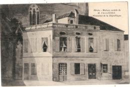 **47**  -  MEZIN: Maison Natale De Mr FALLIERES , Président De La République - Frankreich