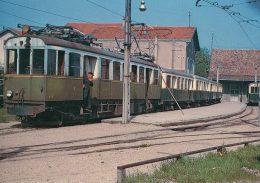 France 74, Chemin De Fer, Train à Annemasse, Photo 1955 BVA, CEN 646.1 - France