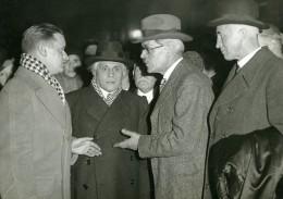 Paris Politiciens Paul Boncour Ramsay MacDonald John Simon Ancienne Photo Meurisse 1930 - Berühmtheiten