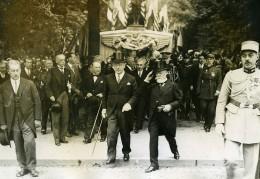 Paris Independance Day Président Doumer & Ambassadeur Walter Edge Ancienne Photo Meurisse 1931 - Berühmtheiten