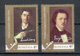 Romania 2013 Art Anniversaries Grigorescu Luchian Paintings 2v** MNH - 1948-.... Repubbliche