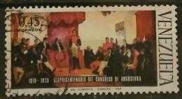 VENEZUELA 1969 The 150th Anniversary Of Angostura Congress. USADO - USED. - Venezuela