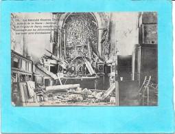 LA GUERRE EUROPEENNE 1914 - Intérieur De L´Eglise De BARCY Saccagée Par Les Allemands - ENCH - - Guerre 1914-18