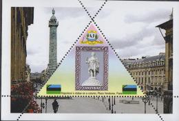 NAPOLEON   1  Sheet   TRIANGULAR STAMP LIMITED EDITION Mint   CINDERELLA - Napoléon