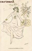 """ILLUSTRATEUR RETTY """" L'AMOUR DU CHIFFON EN 1912 """" MODE FEMME AU CHAPEAU HUMOUR ART DECO - Illustrateurs & Photographes"""