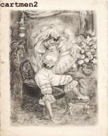 PROGRAMME DU VERNISSAGE DU PEINTRE ET ILLUSTRATRICE SUZANNE BALLIVET LE 1 JUIN 1951 DESSIN ILLUSTRATION ARTISTE PEINTRE - Drawings