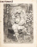 PROGRAMME DU VERNISSAGE DU PEINTRE ET ILLUSTRATRICE SUZANNE BALLIVET LE 1 JUIN 1951 DESSIN ILLUSTRATION ARTISTE PEINTRE - Dessins