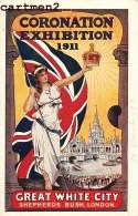 CORONATION EXHIBITION 1911 GREAT WHITE CITI LONDON ILLUSTRATOR EXPOSITION LONDRES ENGLAND - London