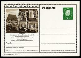 94101) BRD - Bildpostkarte P 42 - 80/484 - * Ungebraucht - 10Pf Heuss II - Osnabrück, Chor Der Marien Kirche - BRD