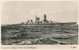 Panzerschiff ADMIRAL SCHEER - 1934-1945 Gekentert - Guerre