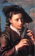 PEINTURE  PHILIPPE MERCIER  LE JOUEUR DE CORNEMUSE  STRASBOURG - Peintures & Tableaux