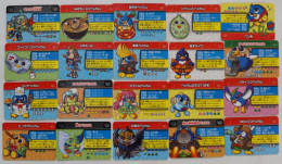 Pengin No Mondai Omoshiro Daizukan Plate   : 20 Japanese Trading Cards - Trading Cards