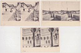 Bosna I Hercegovina - Sarajevo (3 Postcards, Stereoskopie) 1901 - Bosnie-Herzegovine