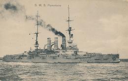 Linienschiff POMMERN - 1915 , Marineschiffspost No. 68 , 1907-1945 Durch Topedos Versenkt - Krieg