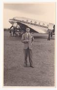 Sabena: Leopoldville, 1947. (carte-photo) - 1919-1938: Interbellum