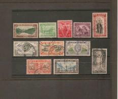 NEW ZEALAND 1946 PEACE SET SG 667/677 FINE USED Cat £4 - 1907-1947 Dominion