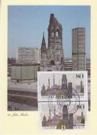 Berlin 1987 750J. Berlin 2x1v  Maximum Card (33623) - [5] Berlijn