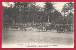 CPA Fontainebleau - Carrousel Donné En L'honneur Du Roi D'Espagne - Fontainebleau