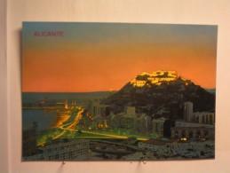 Alicante - Vue Nocturne - Alicante