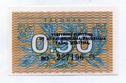 Lituania - 1991 - Banconota Da 0,50 Talonas - Nuova -  (FDC1617) - Lituania