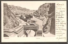 Aden. Tanks, India Postage. ADEN 1905 - Jemen