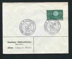 FRANCE- Enveloppe De L´inauguration De La Poste Dans L'usine POISSY 16-5-1961 - FDC