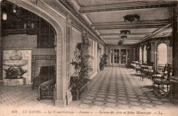 76 LE HAVRE LE TRANSATLANTIQUE FRANCE GALERIE DES ARTS ET SALON MAURESQUE - Steamers